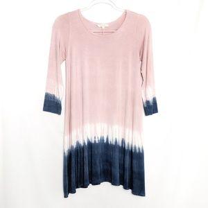 Vestique • Dip Dyed Tunic Swing Dress